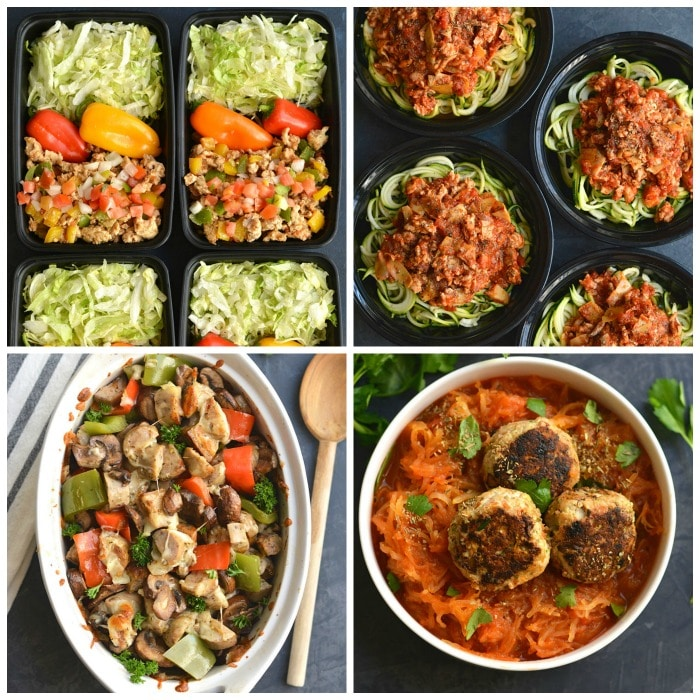 Meal Prep your way to a healthier you with these 70 Healthy Meal Prep Recipes I'm sharing to inspire you to cook healthier and lighter througout the year!