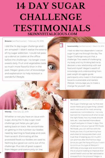 14 Day Sugar Challenge Testimonials