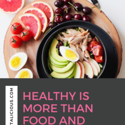 Health is more than food and fitness. Your skin is your biggest organ and everything you put on it, gets absorbed into your bloodstream.
