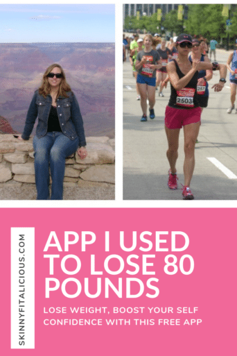 Tracking what you eat to understand portions is key for weight loss. Watch the video for the app I used to lose 80 pounds & keep the weight off since 2009.