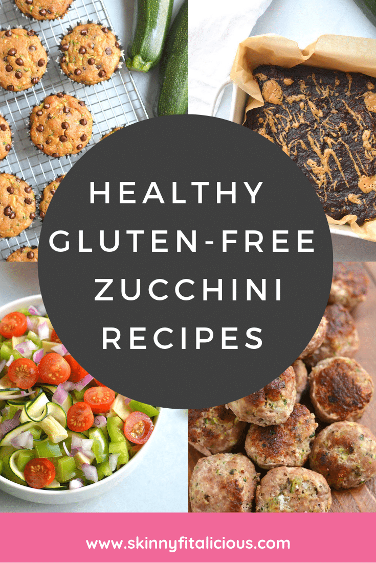 These Healthy Gluten Free Zucchini Recipes will give you plenty of easy and lighter ways to cook zucchini from breakfast to dinner to dessert!