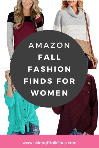 Affordable, comfortable and fashionable Best Amazon Fall Fashion Finds for Women! These tops and dresses are about to become your wardrobe favorites!