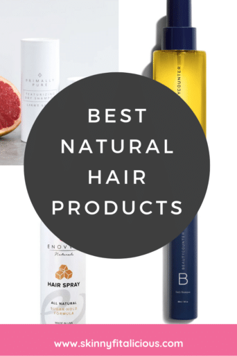 Best Natural Hair Products for every day use. These products are great for active women. These products are chemical, fragrance and gluten free.