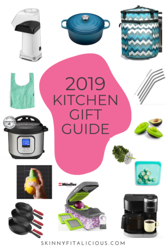The 2019 Kitchen Gift Guide is for the foodie or cook in your life! From subscriptions to appliances to kitchen tools, there's something for everyone.