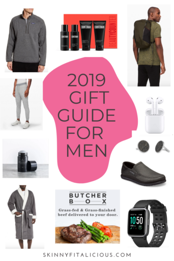 This 2019 Men's Gift Guide has a variety of gift ideas for the man in your life. Subscription services, tickets, safer personal care products, fun toys and everyday staples included. You'll definitely find something for the man in your life in this guide.