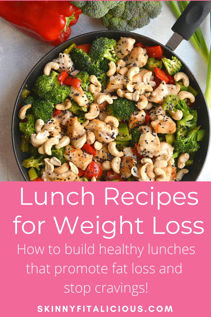 These Healthy Lunches for Weight Loss give you a framework for building a lunch that promotes fat loss. Includes a free lunch recipe download too!