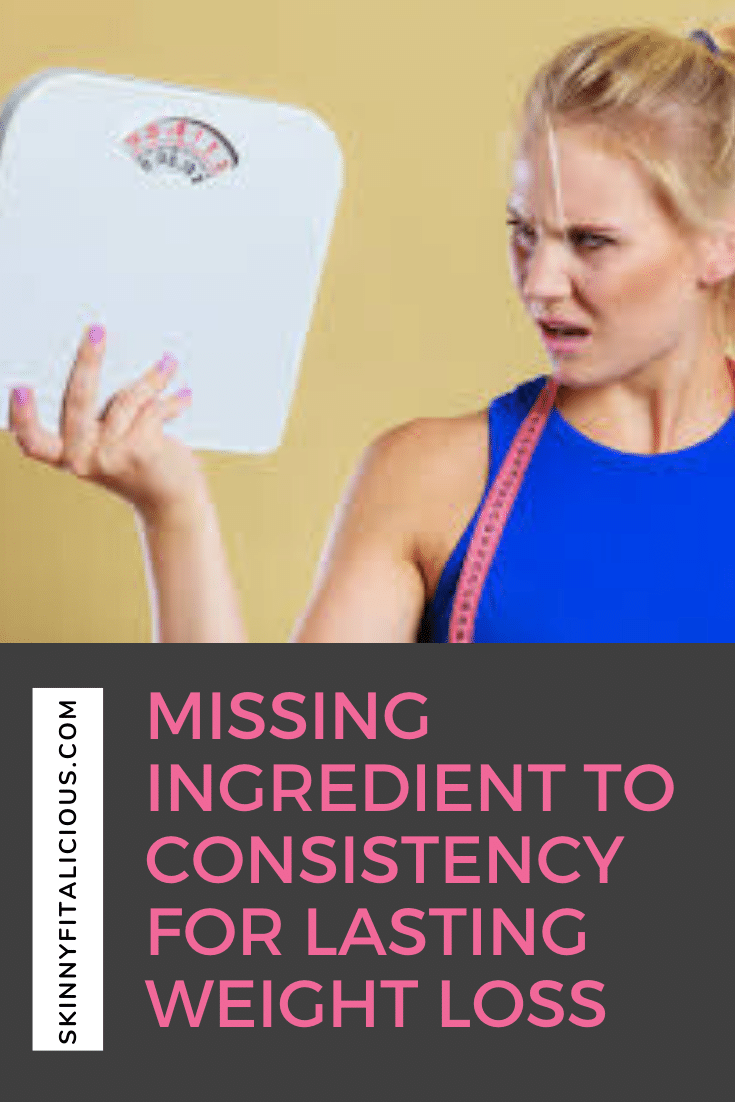 The missing ingredient to consistency for losing weight is not the perfect meal plan or perfect diet. It's focusing on something much deeper the HOW.
