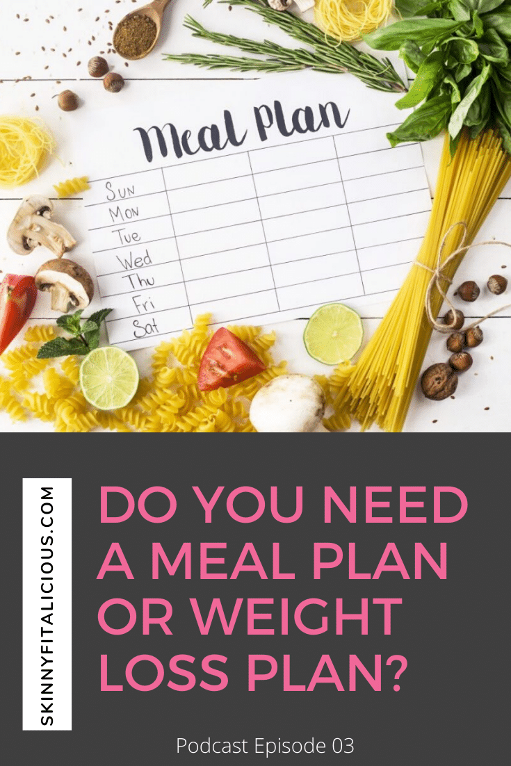 meal plan weight loss