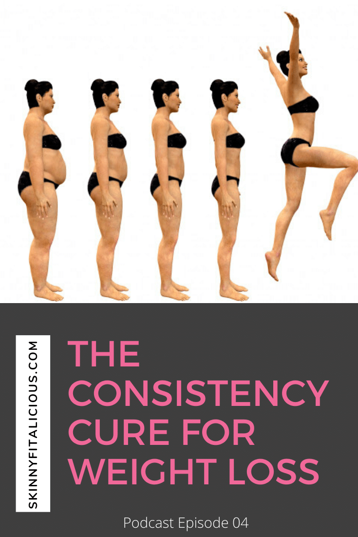 In this Dish On Diets podcast episode, discover the surprising truth to consistency for weight loss. The consistency cure no one talks about!