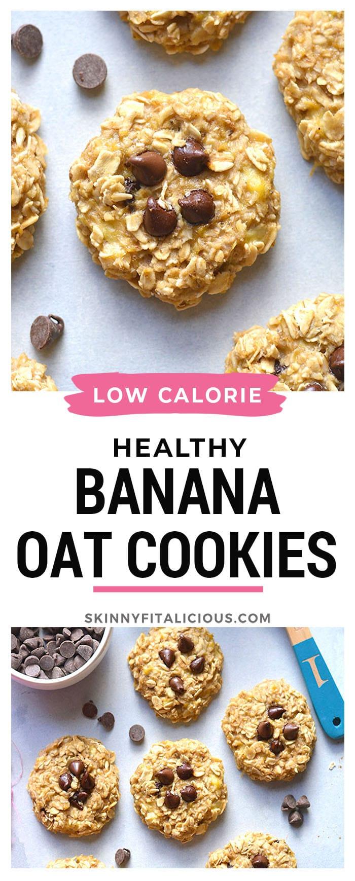banana oat cookie pin