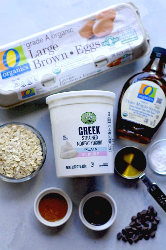 greek yogurt muffin ingredients