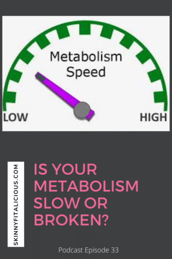 Is your metabolism slow? Broken? Is menopause to blame? Learn what is metabolic adaptation and how to improve your metabolism.