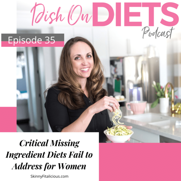 Diets fail to address this critical ingredient for women over 35. This missing ingredient is the #1 reason why women struggle to lose weight.