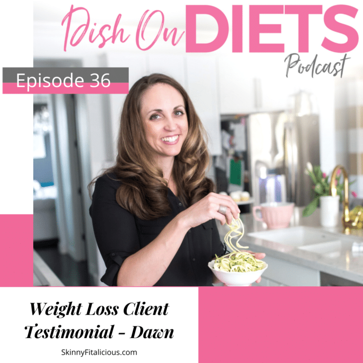 In this episode, Dawn a weight loss client shares her experience losing weight after 35 and advice to other women trying to lose weight forever.