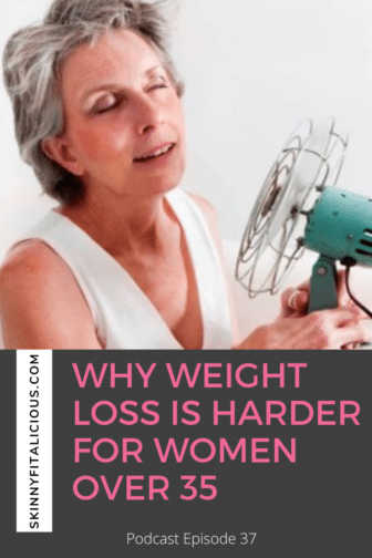 Weight loss is harder for women over 35 due to peri-menopause and menopause changes. Here's what to do to lose weight with ease at this stage.