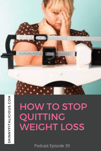 If you want to stop quitting weight loss, learn why mistakes are not bad in weight loss and and how to shift your thinking around mistakes.
