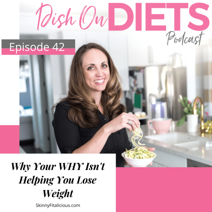 Wondering why you WHY isn't helping you lose weight? You want to lose weight, but feel unmotivated. Here's why your WHY isn't working.