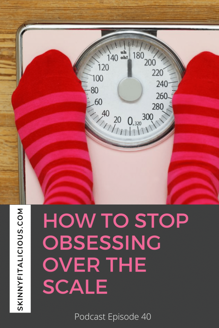 Obsessing over the scale? Learn the simple method for women over 35 for how to stop obsessing over the scale so you can lose weight for good.