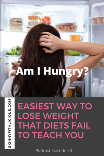 Easiest Way To Lose Weight Diets Fail To Teach You! In this Dish on Ditching Diets episode, learn the one easy skill required for weight loss.