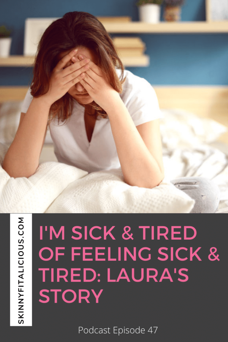 Are you sick and tired of feeling sick and tired? Hear Laura's journey to a more calm, content and peaceful life while losing weight!